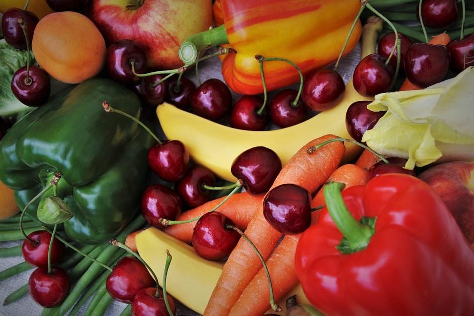 The vegetable fruit diet